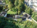 uspinjaca do utvrde Hohensalzburg na brdu