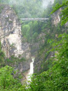 Marijin most nad kanjonom rijeke Pollat