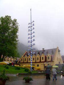 Schwangau-Majsko drvo u bojama Bavarske