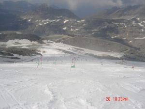 Austrijski glečer u kolovozu 2009