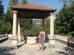 Bunar u dvorištu samostana