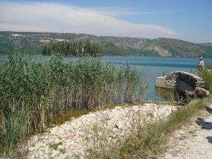 Dolazak na Visovačko jezero