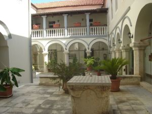 Dvorište samostana na Visovcu