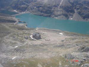 Jezero na oko 2400m nv