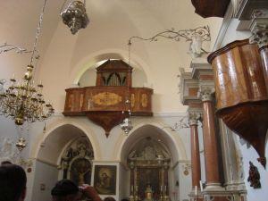 Orgulje u crkvi na Visovcu