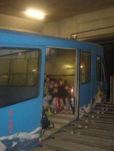 Vlak kroz planinu