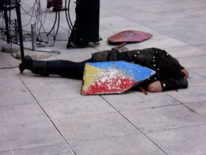ovaj vitez je izgubio bitku