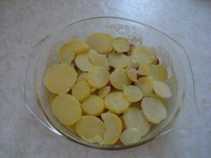 zadnji sloj - francuski krumpir