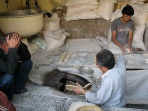 Proces pečenja kruha
