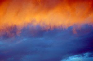 Zalazak sunca poslije kiše