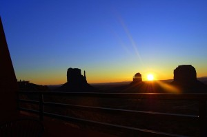 Monument Valley Sunrise Balcony