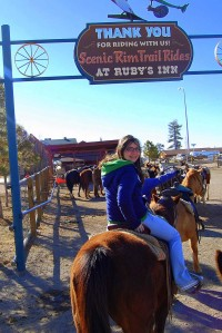 Ruby's Inn Horseback Riding-Lea