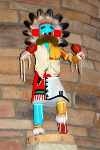 The View Hotel-Kachina Doll